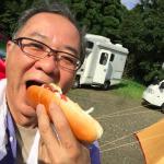 若杉キャンプ朝食